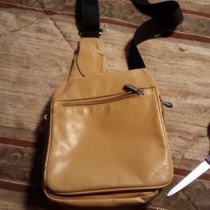 Leather multi pocket pocketbook